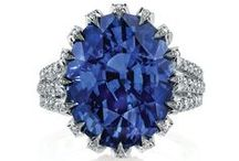 Jewelry - Sapphires / Not my birthstone (Diamond) but my favorite. / by P D