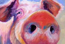 pigs / hammi / by Erin Slater
