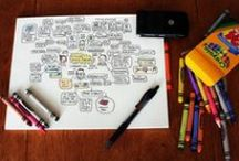 Visual Notes and Mind Maps / by Alice Vasconcellos