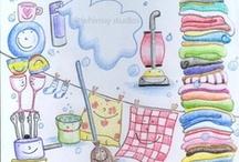 astuces, internet, trucs de grand mère, nettoyage maison etc. / by Martine L