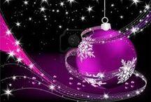 Noël (Christmas) / Décos de fêtes !! / by Martine L
