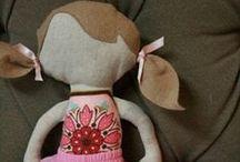 Fabric dolls / by madi aish