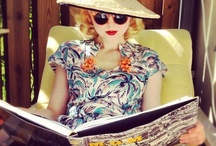 vintage now / Ladies of the 21st century rocking the styles of the 20th / by Faith Rudd Trimmer