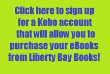 eBook Deals / eBooks  deals through your Kobo account with us.  Great way to try a new author / by Liberty Bay Books