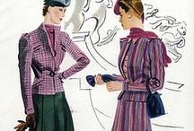1937-43 - feminine and flirty / by Faith Rudd Trimmer