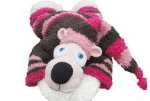 Teddy bear crochet pattern / Teddy bear crochet pattern finished projects. Pattern here http://www.craftsy.com/pattern/crocheting/toy/teddy-bear-potapchik-amigurumi-toy/33646 / by LittleOwlsHut