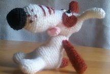 Dog Lucky Amigurumi Crochet Pattern projects / by LittleOwlsHut