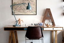 home inspiration - office area / by The Franglaise