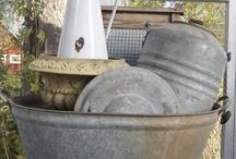 Cans/Buckets/Tubs/Zinc / by Deborah Nichols