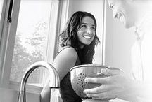 B&W Faucet Life / by Pfister Faucets