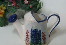 Bluebonnets / A few of my favorite bluebonnets. / by Texas Ceramics