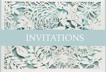 Invitations / All of the gorgeous invites we love for every engagement, save the date, wedding etc; / by Watters