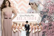 You Make Me Blush / Are you a Blushing Bride? Here is our favorite inspiration for your perfect wedding day! / by Watters