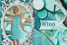 Wtoo Blue / Our favorite ideas for your Tiffany Blue/Teal/Aqua Wedding with bright, bold color. / by Watters