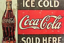 Coca Cola Memorabilia / Coca Cola - An iconic brand that stimulates collectors all over the world. At Sqrall.com we love seeing all the Coca Cola collectibles we can find!  / by sqrall.com