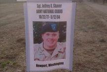 Military / A Tribute to Sacrifice and Those with Whom I Served / by Matt Shea
