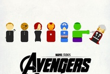 Avenge us! / Captian America, Hulk, Iron Man, Thor, Hawkeye, and the Black Widow. And, of course, Loki is in there too. / by Katherine Speiker