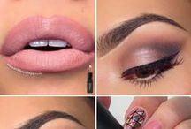 material girl / eye makeup, hair and nail / by Virgínia