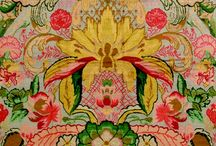 floral, african, Indian, animal, chintz...print/pattern / by Doris Chan