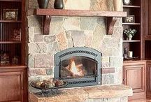 fireplace / by Melissa Huffman