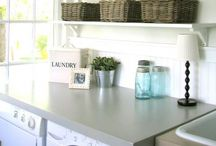 For the Home: Laundry Rooms / I've got a thing for a pretty laundry room... this board is filled with beautiful laundry rooms! / by Laurie @ Gallamore West