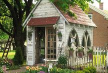Garden Houses and Potting Sheds / by Colleen King
