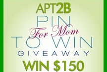 Contest & Giveaways / Contests & Giveaways! / by Apt2B