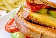 """Sandwiches, Panini's, Taco's / """"Sandwiches are wonderful. You don't need a spoon or a plate!"""" / by Tracy Dunlap"""