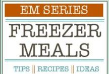 Freezer meal ideas / by Amy Greer Johnson