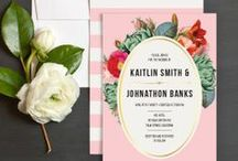 Stationery / Gorgeous wedding invitations, save the dates etc / by One Fab Day - Wedding Blog