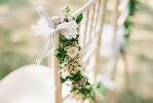 Wedding Chair Decor / by One Fab Day - Wedding Blog