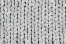 knitted. / I'm teaching myself how to knit. These are ideas for projects and color inspiration. / by Cara Tobe
