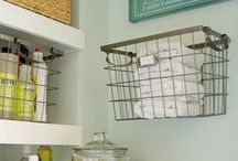 Decor: Organization / You know, to make your house liveable and stuff. / by Heather Mann: Dollar Store Crafts