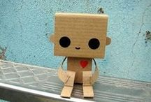 Inspiration: Robots / DIY, crafts, food -- robotic. / by Heather Mann: Dollar Store Crafts