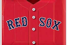 Boston Red Sox Party Supplies / A sample of Shindigz Red Sox Baseball Party Supplies / by Shindigz