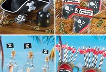 Pirate Party Ideas for Kids / You'll be the #BestMom to your young #Pirate with these #PirateParty ideas! / by Shindigz