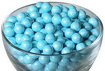 Blue Candy Buffet / Blue themed candy buffet! / by Shindigz