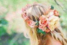 Flower Crowns / by mpmwedding