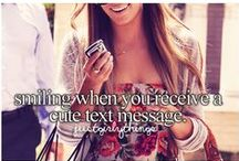 Just Girly Things / by S H V R O N
