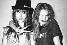 one in the s∞me  / BFF stands for best friends forever, & that's what we are.  / by Carly Rosete