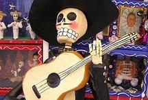 ~ Dia de los Muertos & Skulls ~ / by Terry Powell