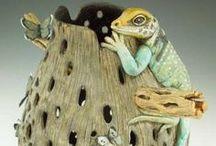 The Gourd, Wood & Pottery Barn / by Jo Escher