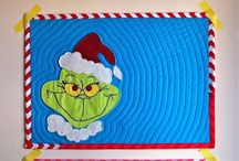 12 Months: Dec GRINCH Party / by Cattywampus Quilter