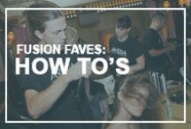 Fusion Faves: How To's / Enjoy these quick how-to tutorials for some of your favorite looks. We are always happy to assist you in achieving your desired results at one of our locations: www.fusionspasalonaveda.com. / by Fusion Spa Salon Aveda
