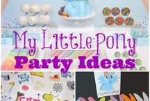 My little Pony Birthday Bash / Ideas for M's 3rd birthday party / by Amanda B
