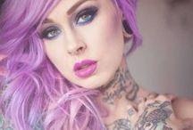 Hair / hair updos hairstyles hår håruppsättningar hårstilar frisyrer / by Alyssa Belinda