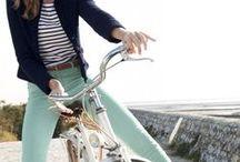 Mint, Pistachio, or Aqua / sweaters, tees, pants, and skirts / by Marieli Peak