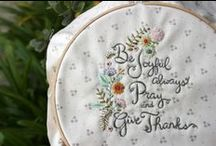 Embroidery / by Cari Stenzel