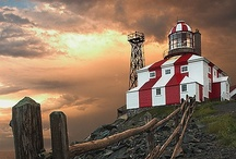 lighthouses / by Dan Armstrong