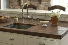 Countertops / Various styles of solid surface countertops for the home. / by Talianko Design Group, LLC